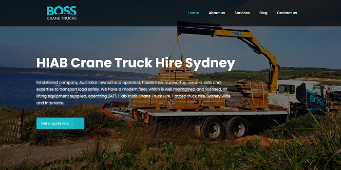 Get 3 bus and truck rental Quotes Now!Crane Truck Hire Sydney